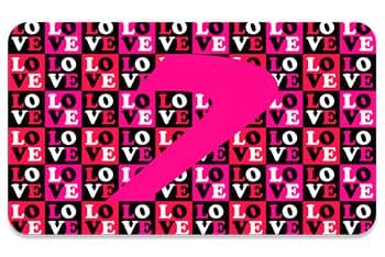 Tarjeta love v3, regala Seven Dance