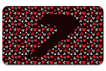 Tarjeta love v4, regala Seven Dance